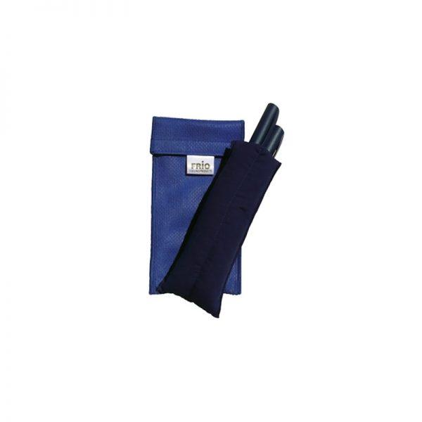 cartera frio azul